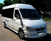 Пассажирские перевозки автобусами Mercedes Sprinter 18-22 места Одесса